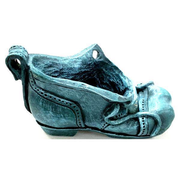 Blue Shoe Pipe Rest