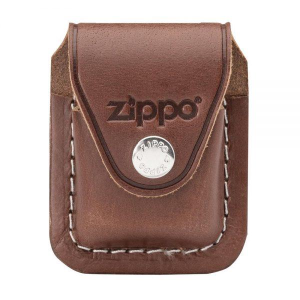 Brown Zippo Lighter Pouch