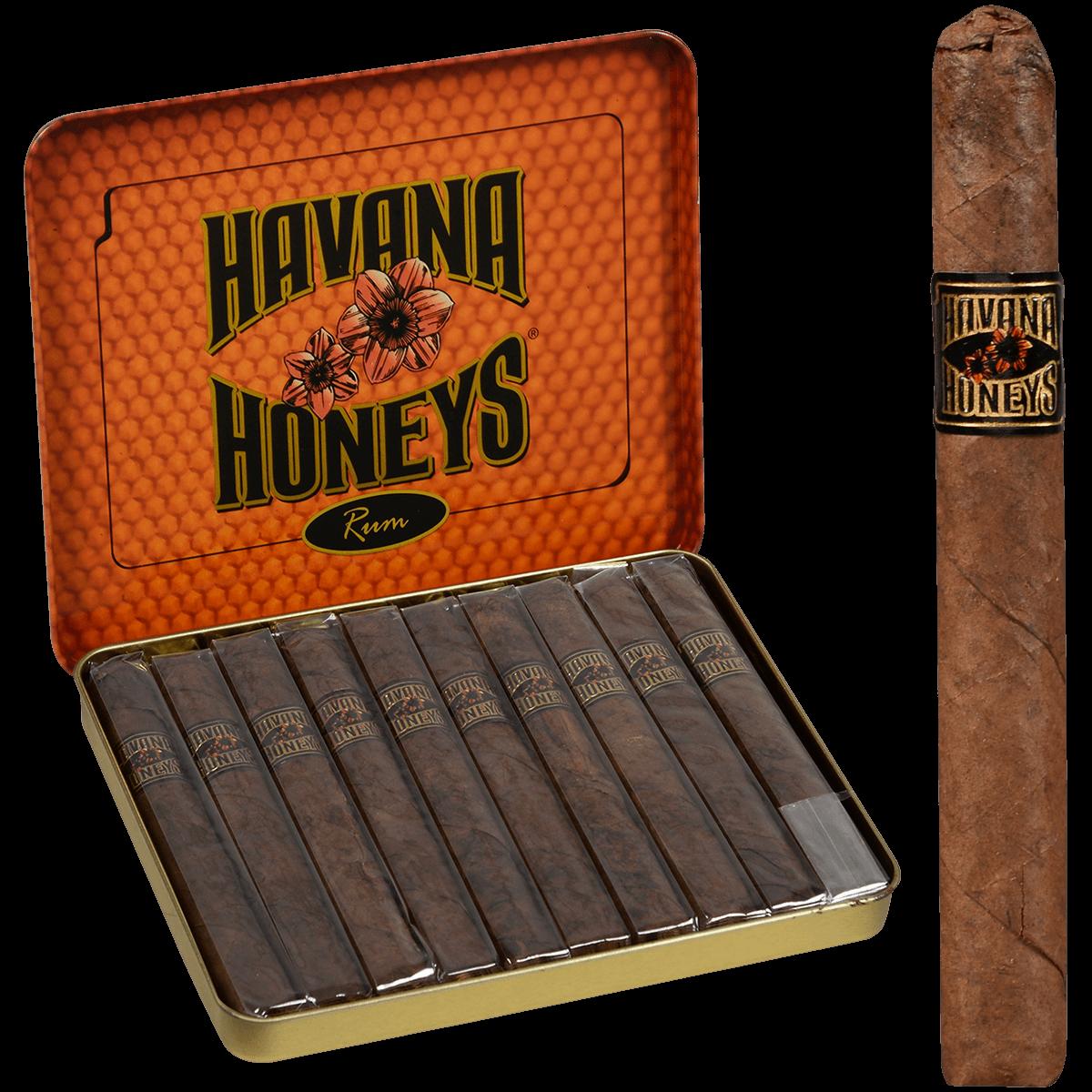 Havana Honeys Cigars Rum Tin - Boswell Pipes - Premium Cigars