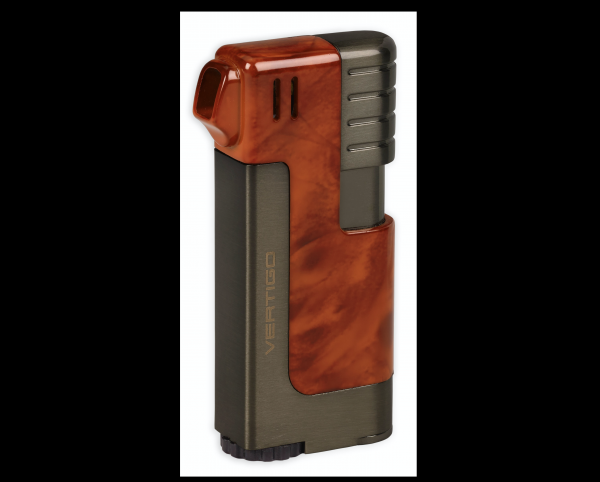 Vertigo Pipe Lighter Burlwood