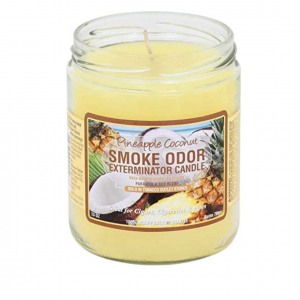 Pineapple & Coconut Smoke Candle