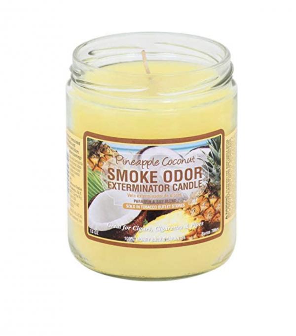 Pineapple & Coconut Smoke Candle