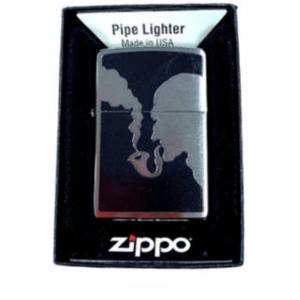 Zippo Pipe Lighter Chromed
